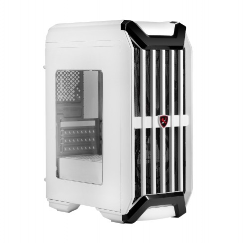 Case Spire I7 Gamer X2-S8024W-CE Window Side White (w/o PSU microATX)