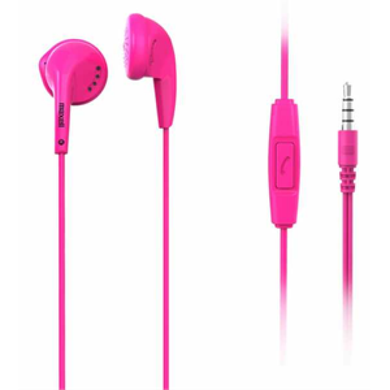 Earphones MAXELL EB95 with Mic Pink