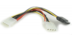Cable Serial ATA Power cable + Molex female to Molex male Gembird CC-SATA-PSY2