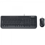Keyboard & Mouse Microsoft Wired 600 USB Black