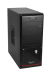 Case Gembird GSC-PSU-007 Black (500W MidiTower ATX)