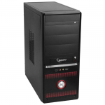 Case Gembird GSC-PSU-002 Black (550W MidiTower ATX)