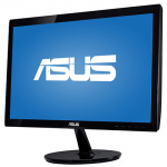"19.5"" Asus VS207T-P Glossy Black (TN LED 1600x900 5ms 80M:1 DVI 2x1W)"