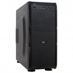 Case Inter-Tech SY-608 Black (w/o PSU MidiTower ATX)