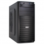 Case Inter-Tech SY-126 Black (500W MidiTower ATX)