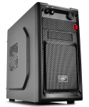 Case DEEPCOOL SMARTER BLACK (w/o PSU MiniTower mATX)