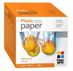 Photo Paper ColorWay 4R HighGlossy 180g 500pack (PG1805004R)