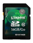 16GB SDHC Card Kingston Class 10 UHS-I 600X Ultimate