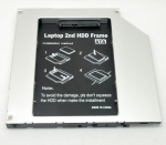 Caddy HDD for notebook HD1203-SA (12.7mm IDE to SATA)