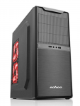 Case Sohoo 5901BK Black (500W Miditower ATX)