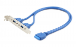 Cable Extension USB 3.0 Gembird CC-USB3-RECEPTACLE Dual USB 3.0