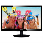 "19.5"" Philips 200V4QSBR G.Black (MVA W-LED 1920x1080 8ms 10M:1 D-Sub+DVI)"