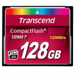 128GB Compact Flash Card Transcend 600X