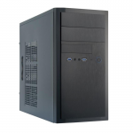 Case Chieftec ELOX HT-01B-350S8 Black (PSU 350W Minitower ATX)