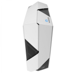 Case ATX NZXT Noctis 450 Glossy White-Blue (w/o PSU MidiTower ATX)