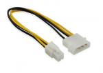 Cable power 4-pin molex to Power ATX P4 12V ( питание на мат. плату )