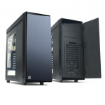 Case ZALMAN R1 ( w/o PSU with Side-Window MidiTower ATX )