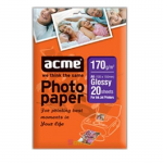 ACME Glossy Photo Paper A6, 170g, 20pcs