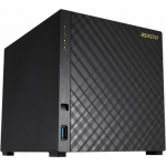 "NAS Server ASUSTOR 4-bay AS1004T (Marvell Armada-385 Dual-Core 1GHz 512MB DDR3 3.5"" SATA x4 Gigabit LAN x1 Hardware Encryption Engine 4 Free Licenses)"