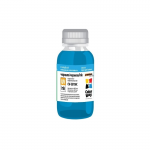 Ink ColorWay for HP Universal CW-HW130C Cyan ( DJ 1100/1120/1125/1180/1220/1280/1600/310 100ml)
