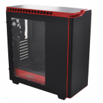 Case ATX NZXT H440 Matte Black+Red CA-H442W-M1 (w/o PSU MidiTower ATX)