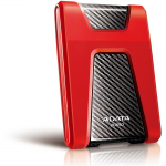 "External HDD 1.0TB ADATA DashDrive Durable HD650 Silicone Red (2.5"" USB3.0)"