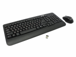 Keyboard & Mouse SVEN Comfort 3500 Wireless 2.4GHz Nano receiver USB Black
