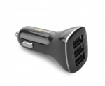 Car-Charger Pineng PN-523 Black Outputs: 1.0A/2.1A