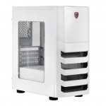 Case Spire I5 Gamer X2-S8022W-CE w/Acrylic Window Side White(w/o PSU mATX)