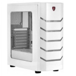 Case Spire I6 PRO Gamer Acrylic Window Side White(w/o PSU microATX)