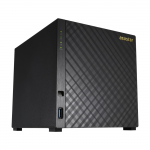 "NAS Server ASUSTOR AS3104T 4-bay (Intel Celeron N3050 2.16GHz 2GB 2.5""/3.5""SATAx4 Gigabit LANx1 AES-NI Encryption Hardware Transcoding)"