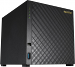 "NAS Server ASUSTOR AS3204T 4-bay (Intel Celeron N3150 2.24GHz 2GB 2.5""/3.5""SATAx4 Gigabit LANx1 AES-NI Encryption Hardware Transcoding)"