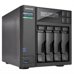 "NAS Server ASUSTOR AS6204T 4-bay (Intel Celeron N3150 2.24GHz 4GB 2.5""/3.5""SATAx4 Gigabit LANx2 )"