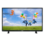 "24"" LED TV VESTA LD24B340 Black (1366x768 HD Ready 100 Hz Analog tuner USB HDMI VGA Speakers 2x8W)"