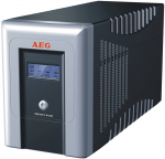 Tower UPS AEG Protect B.1000 LCD Line-Interative UPS 1000VA/700W AVR Sinusoidal Waveform LCD display