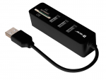Card Reader TRACER All-In-One + HUB USB CH4