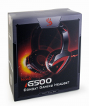 Headset Bloody G500 Gaming Black+Red 1x3.5mm With Mic