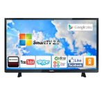 "32"" LED TV VESTA LD32B722S Black (1366x768 HD SMART TV 100 Hz 2xHDMI VGA USB Speakers)"