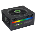 PSU GAMEMAX RGB-550 (14cm Fan 550W 80+ Gold ATX)