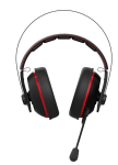 Headset ASUS Gaming CERBERUS V2 with Mic Red