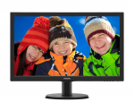"23.6"" Philips 243V5LHAB5 Black (TFT TN 1920x1080 1ms 250cd DVI D-Sub HDMI)"