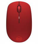 Mouse Dell WM126 Red Wireless