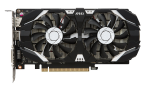 VGA Card MSI GeForce GTX 1050 Ti 4GT OC Dual Fan (4GB DDR5 1455/7008Mhz 128Bit)