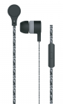 Earphones MAXELL CORDZ Black with in-line Microphone
