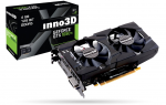 VGA Card  Inno3D GeForce GTX 1050 TI X2 (4GB DDR5 128-bit)