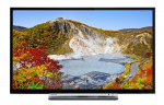 "24"" LED TV Toshiba 24W3753DG Black (1366x768 HD 100Hz 2xHDMI 1xUSB Speakers 2x2.5W)"