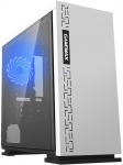 Case GAMEMAX EXPEDITION WH White ( w/o PSU Transparent Panel Rear 12cm Blue LED mATX)