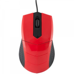 Mouse Logic WIRED MOUSE LM-13 Black/Red