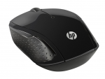 Mouse HP 200 Black Wireless X6W31AA#ABB