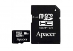 16GB microSD Apacer AP16GMCSH10U5-R Class 10 UHS-I SD adapter (R/W:85/20MB/s)